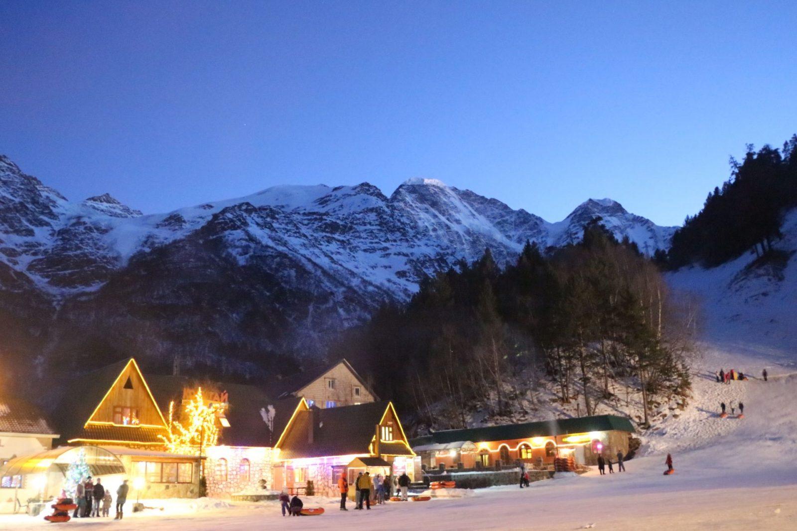Лучшие горнолыжные курорты России 4
