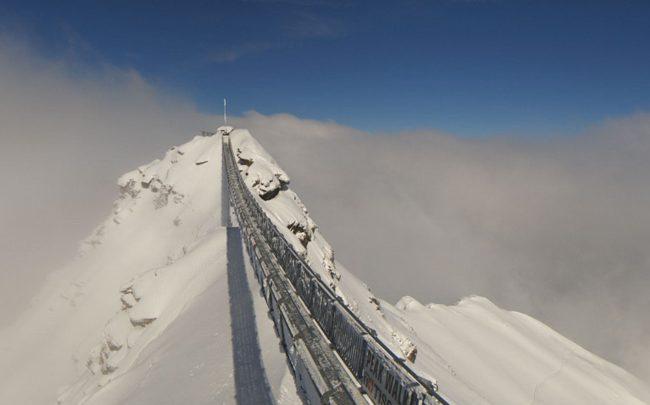 В Альпах снова выпал снег 1
