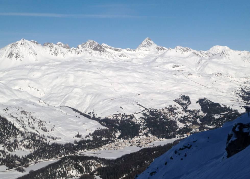 Горнолыжный курорт St. Moritz – Corviglia 3