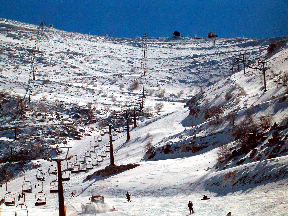Горнолыжный курорт Mount Hermon – Neve Ativ 3