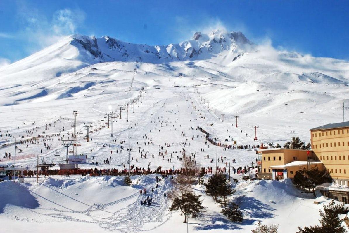 Горнолыжный курортErciyes — Kayseri 2