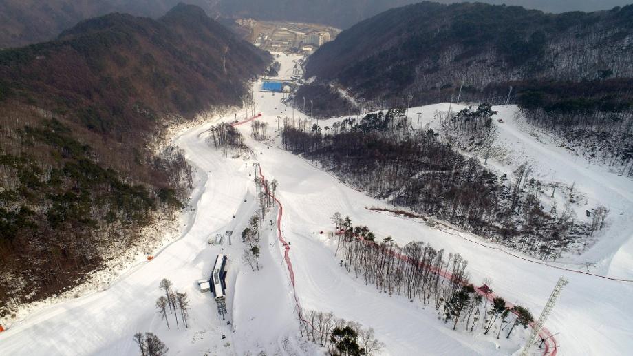 Горнолыжный курорт Jeongseon Alpine Centre 4
