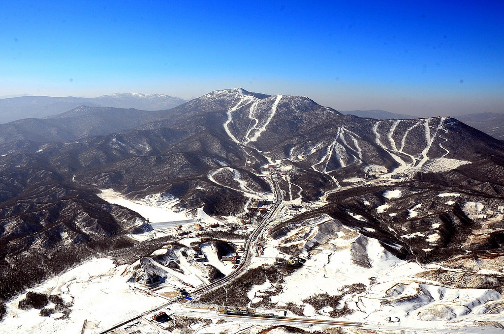 Горнолыжный курортSun Mountain — Yabuli 4