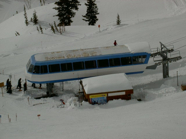 Горнолыжный курорт Snowbird 2