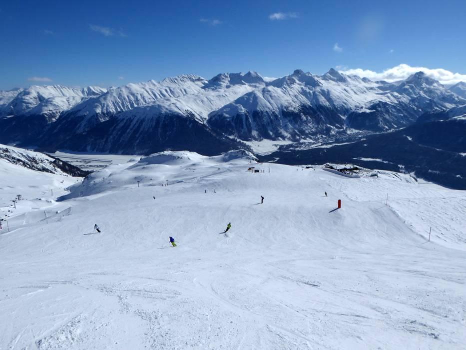 Горнолыжный курорт St. Moritz – Corviglia 6