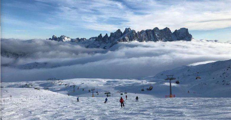 Горнолыжный курорт Passo San Pellegrino / Falcade 1