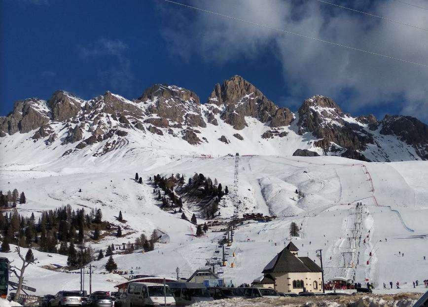 Горнолыжный курорт Passo San Pellegrino / Falcade 4