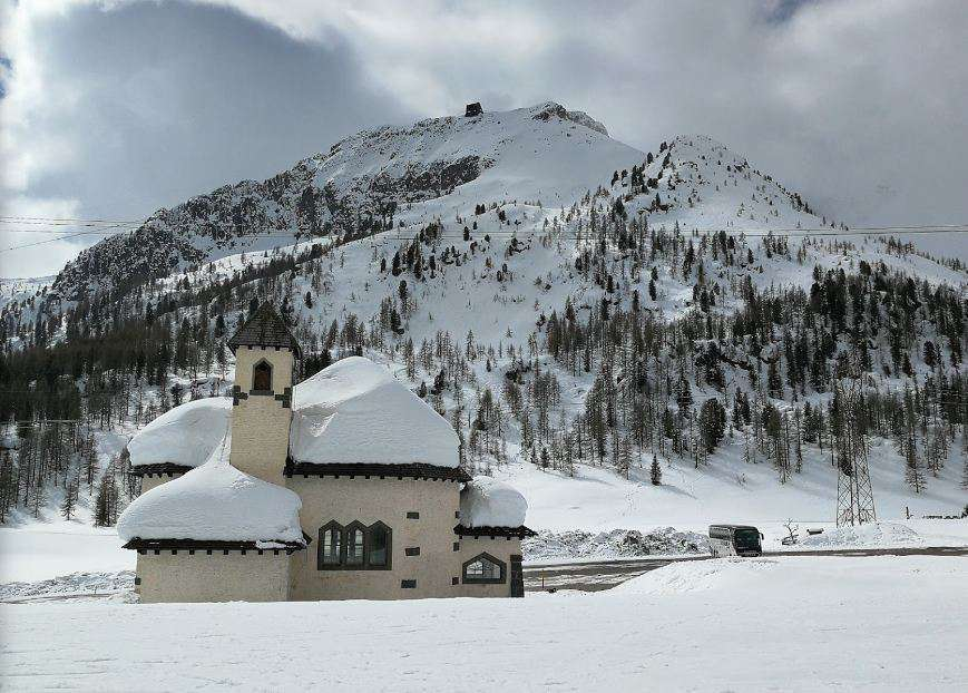 Горнолыжный курорт Passo San Pellegrino / Falcade 5
