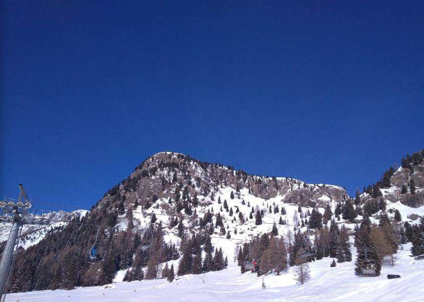 Горнолыжный курорт Passo San Pellegrino / Falcade 6