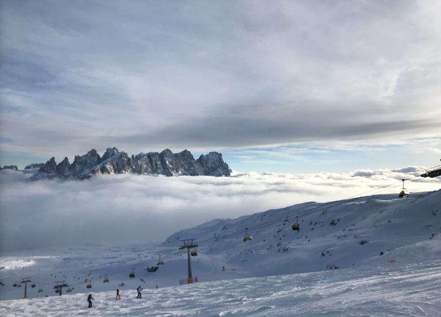 Горнолыжный курорт Passo San Pellegrino / Falcade 7