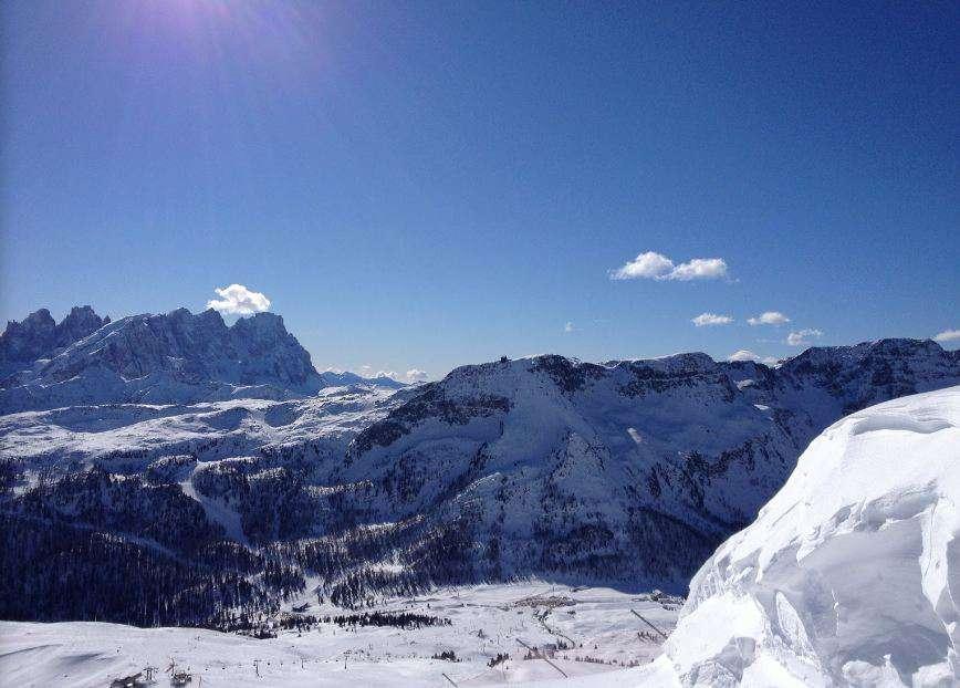 Горнолыжный курорт Passo San Pellegrino / Falcade 9