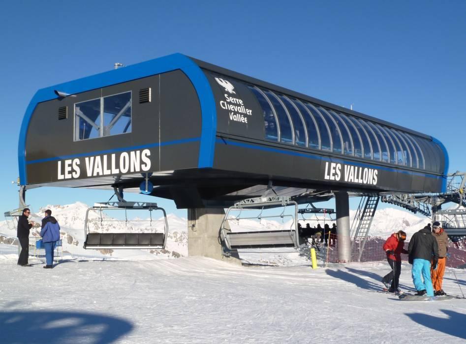 Горнолыжный курорт Serre Chevalier – Briançon / Chantemerle / Villeneuve la Salle / Le Monêtier les Bains 11