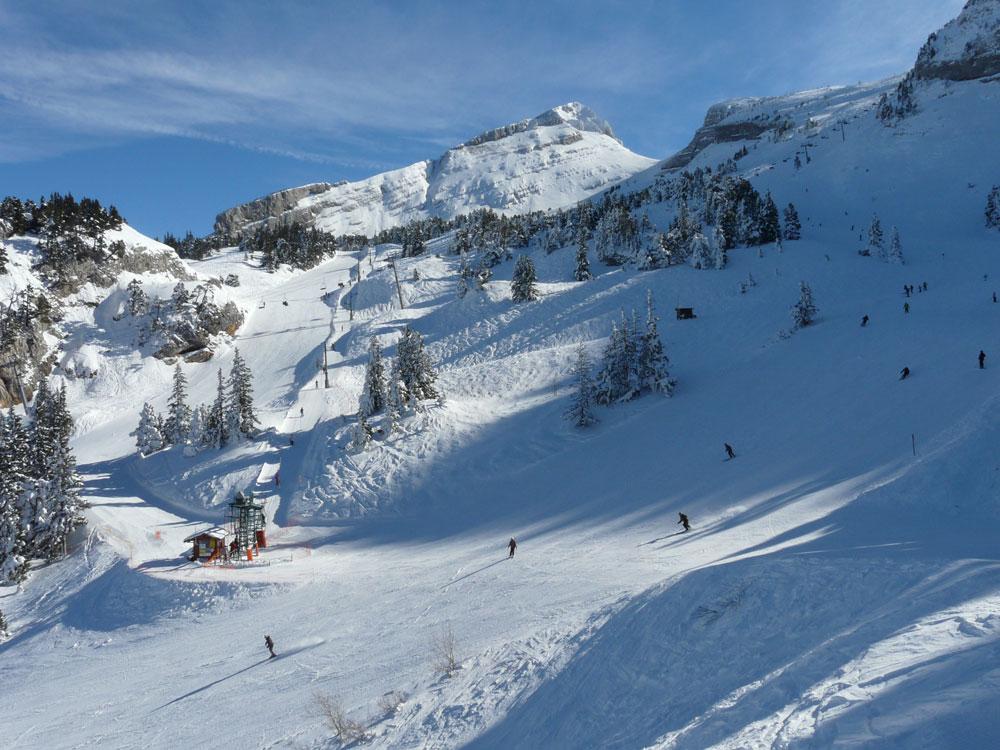гренобль горнолыжный курорт веркор описание фото