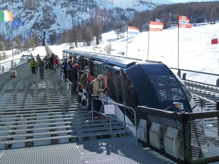Горнолыжный курорт Tignes / Val d'Isère 9
