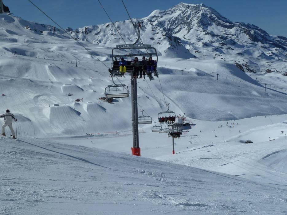 Горнолыжный курорт Tignes / Val d'Isère 11