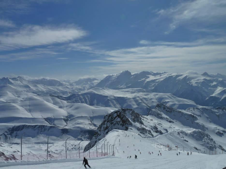 Горнолыжный курорт Alpe d'Huez 8