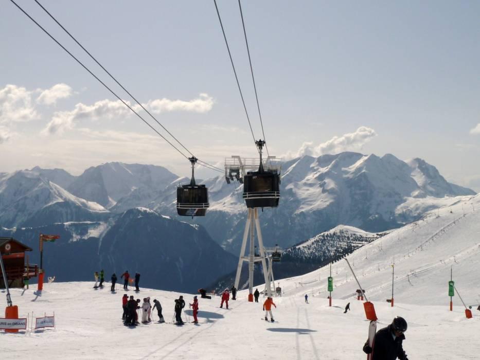Горнолыжный курорт Alpe d'Huez 5