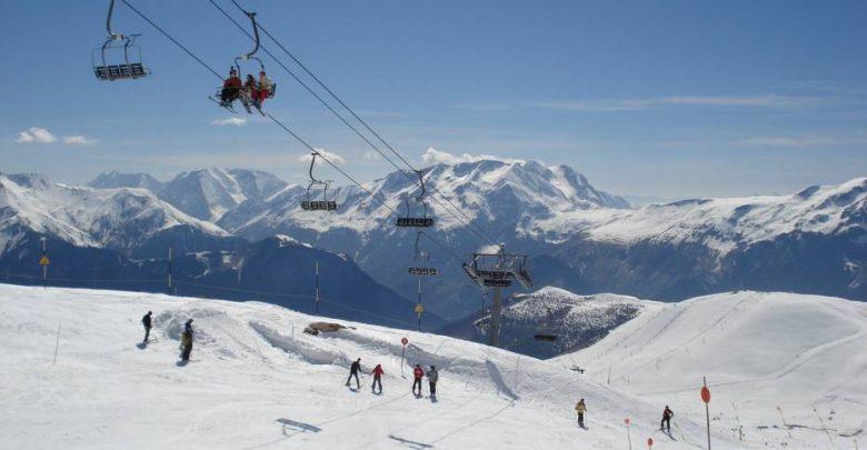 Горнолыжный курорт Alpe d'Huez 1