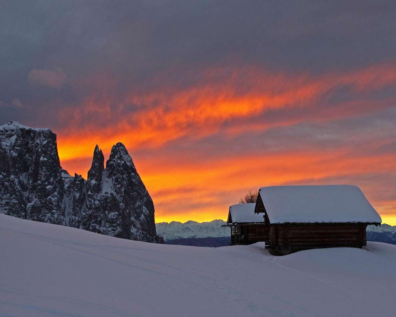 Горнолыжный курорт Alpe di Siusi (Seiser Alm) 7