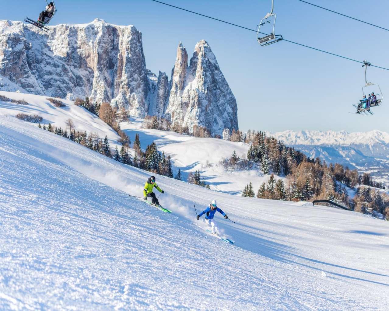 Горнолыжный курорт Alpe di Siusi (Seiser Alm) 9