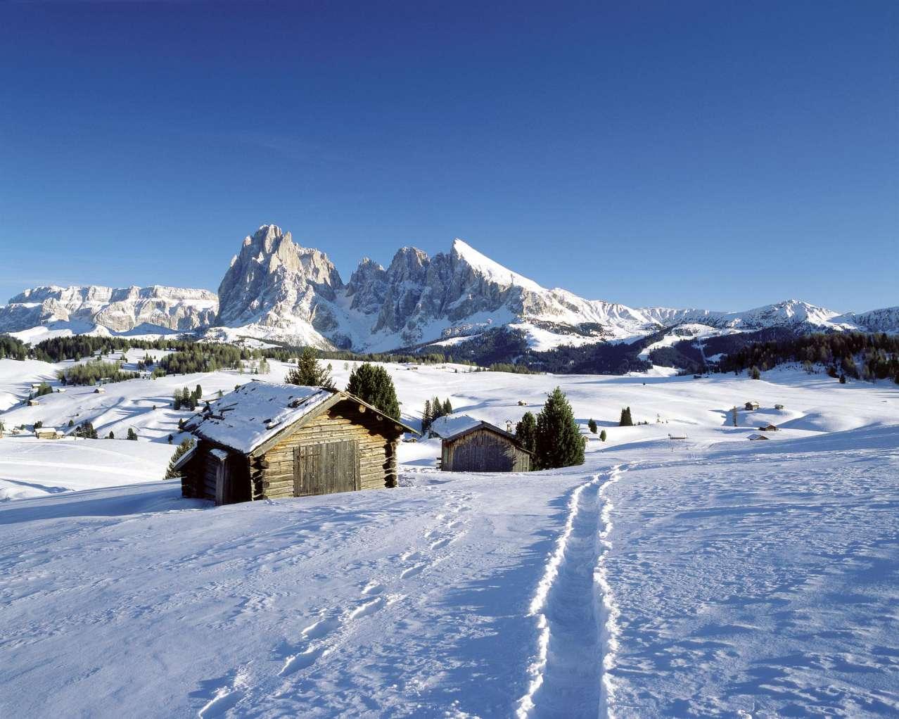 Горнолыжный курорт Alpe di Siusi (Seiser Alm) 10