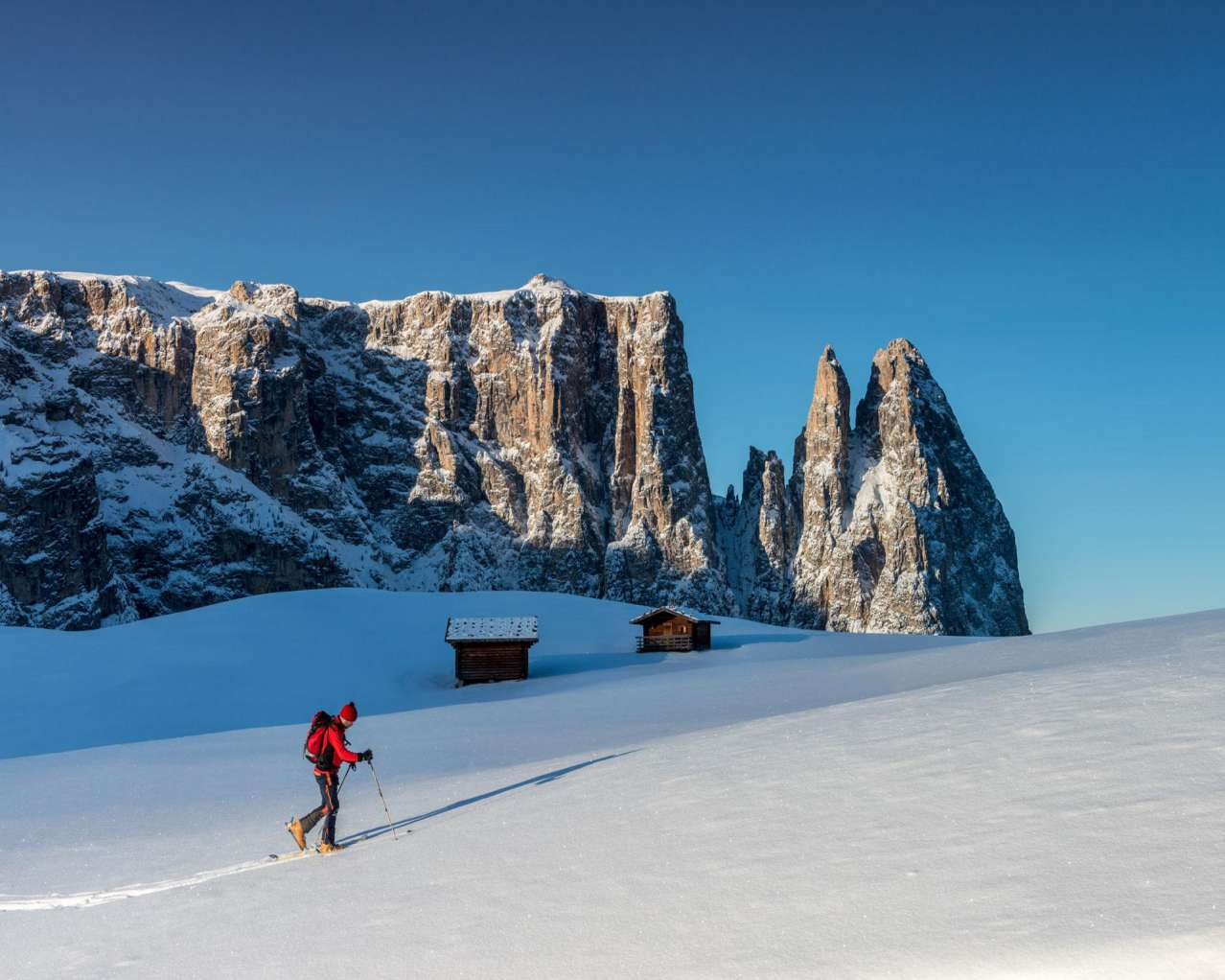 Горнолыжный курорт Alpe di Siusi (Seiser Alm) 11