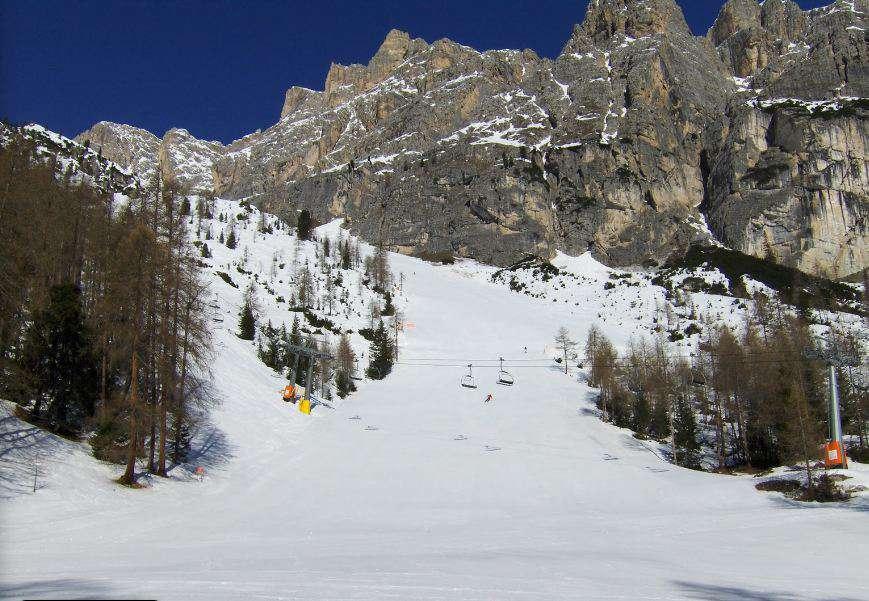 Горнолыжный курорт Cortina d'Ampezzo 6
