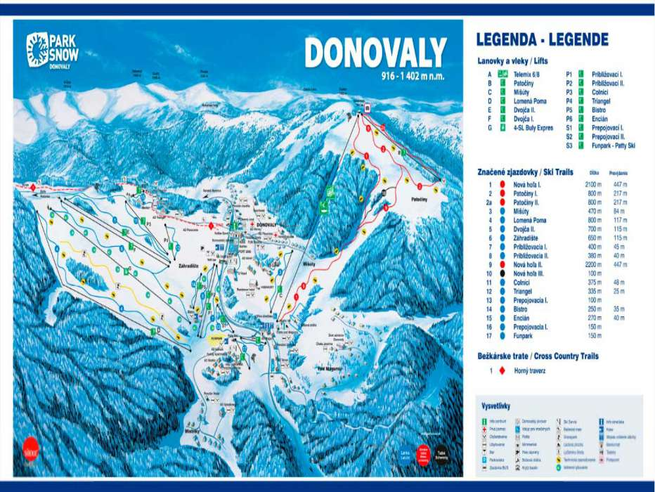 Горнолыжный курорт Donovaly (Park Snow) 2