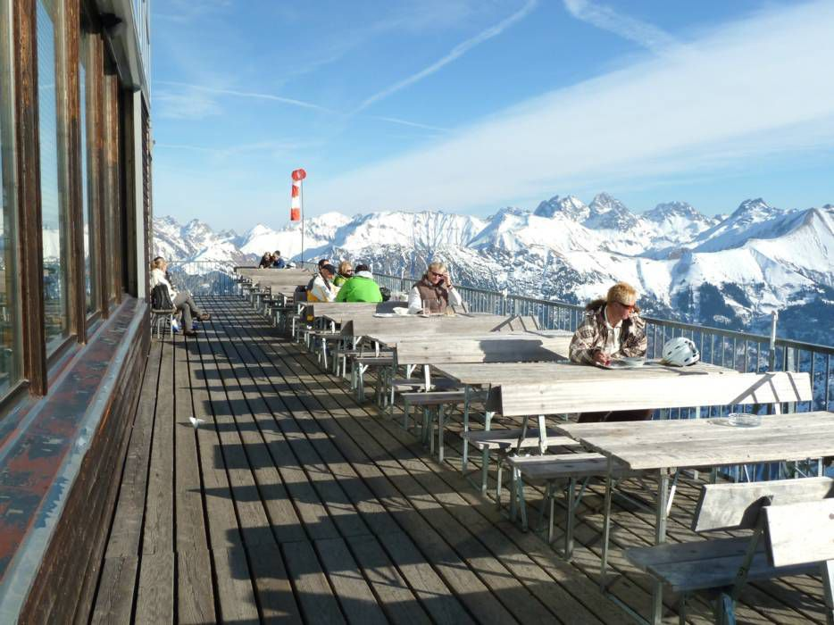 Горнолыжный курорт Fellhorn / Kanzelwand – Oberstdorf / Riezlern 10