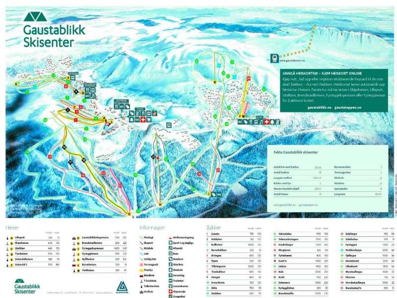 Горнолыжный курорт Gaustablikk – Rjukan 2