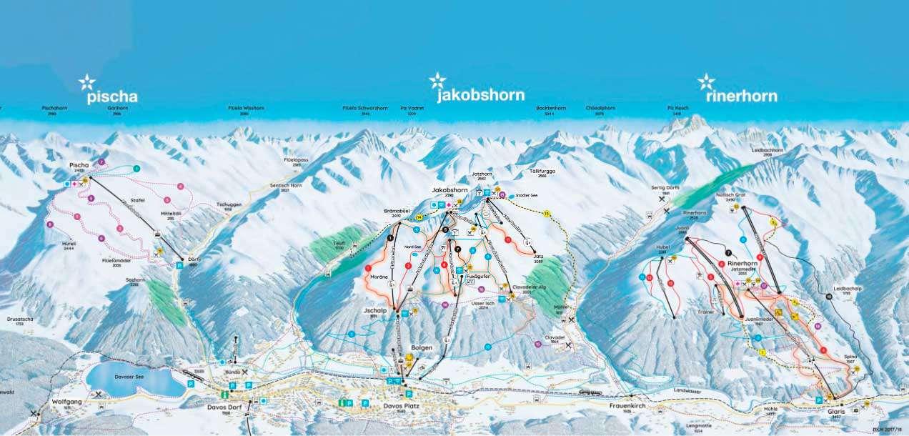 Горнолыжный курорт Jakobshorn (Davos Klosters) 2