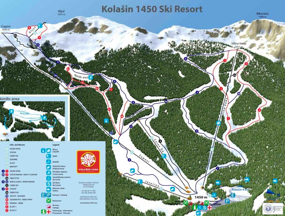 Горнолыжный курорт Kolašin 1450 2