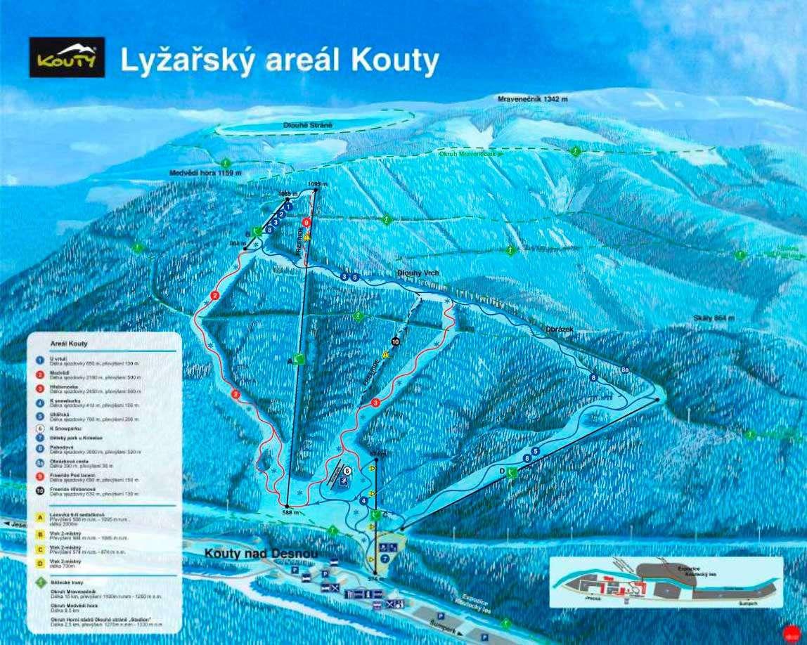 Горнолыжный курорт Kouty nad Desnou 2
