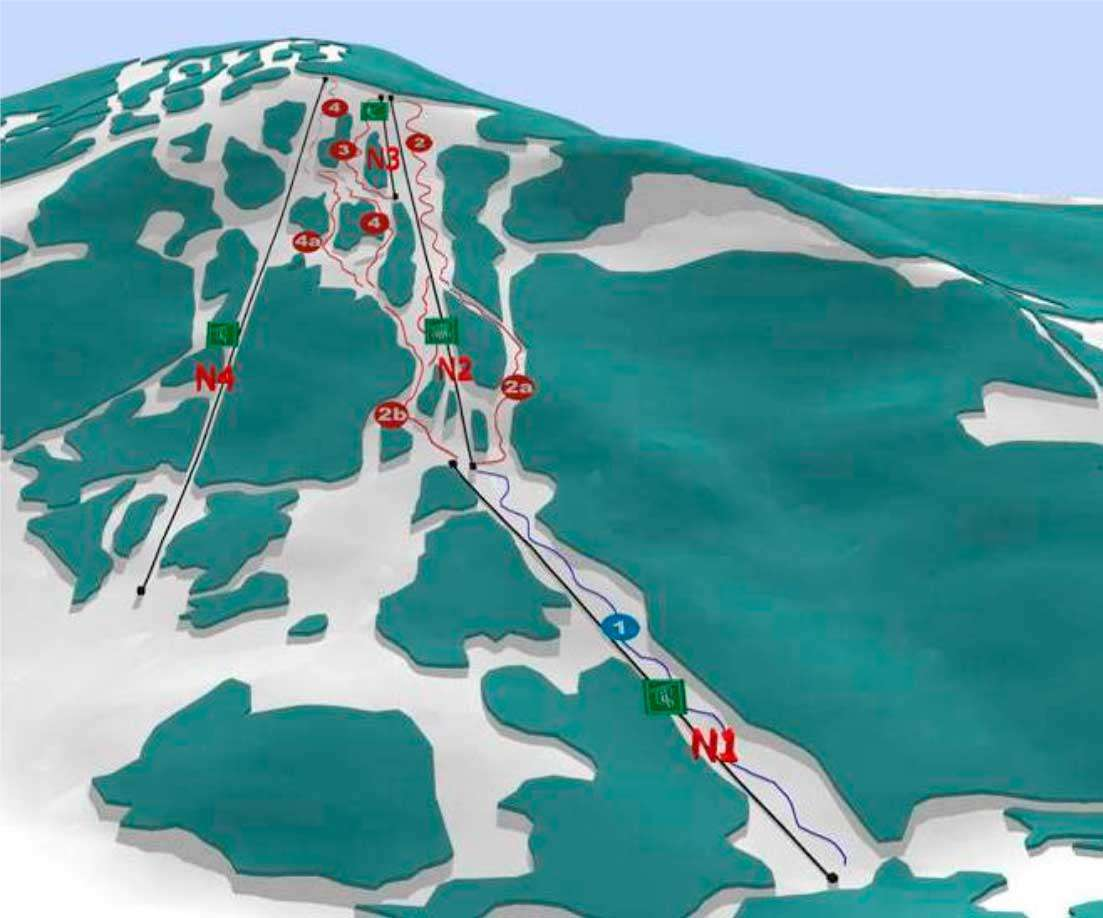 Горнолыжный курорт Krasiya 2