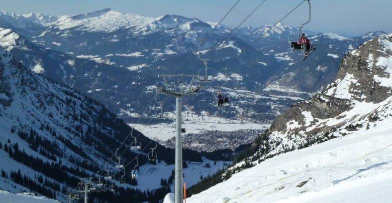 Горнолыжный курорт Nebelhorn – Oberstdorf 1