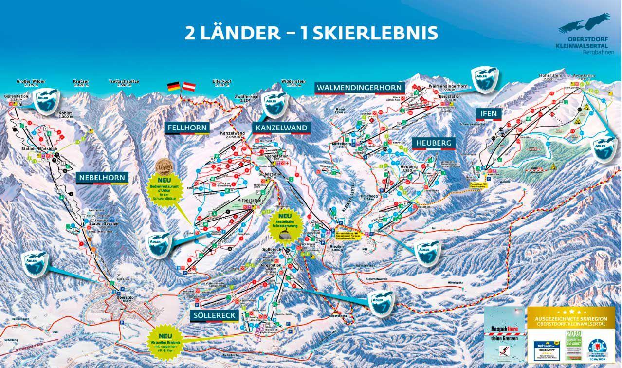 Горнолыжный курорт Nebelhorn – Oberstdorf 2