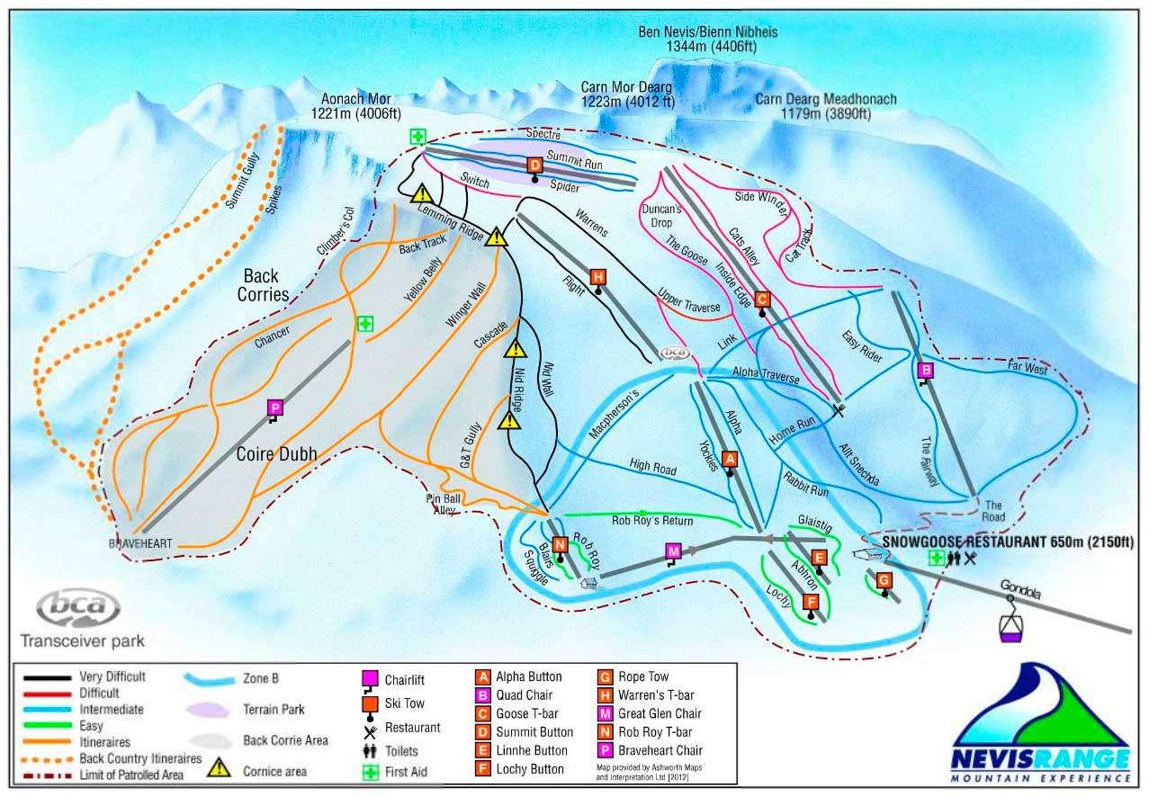 Горнолыжный курорт Nevis Range 2