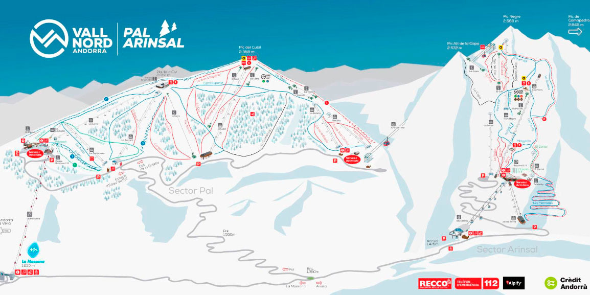 Горнолыжный курорт Pal / Arinsal – La Massana (Vallnord) 2