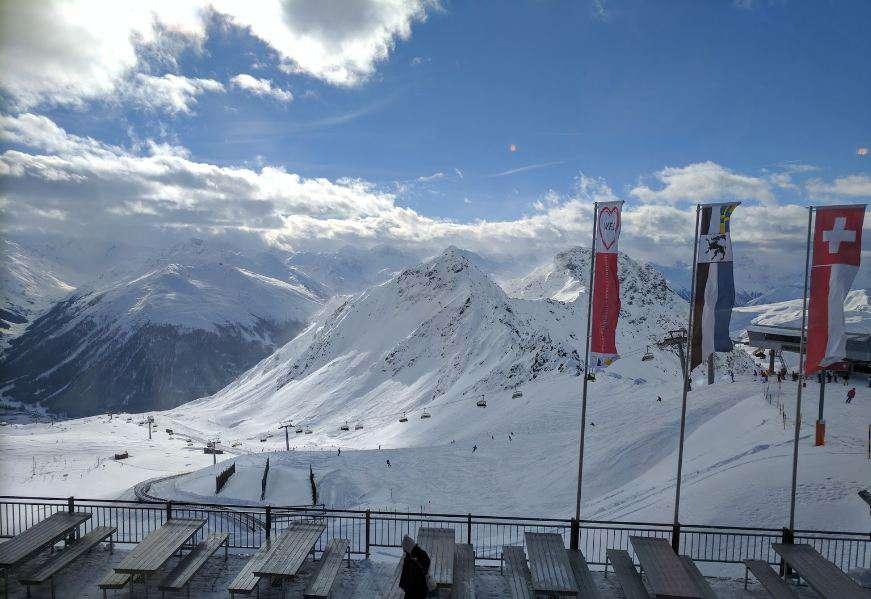 Горнолыжный курорт Parsenn (Davos Klosters) 4