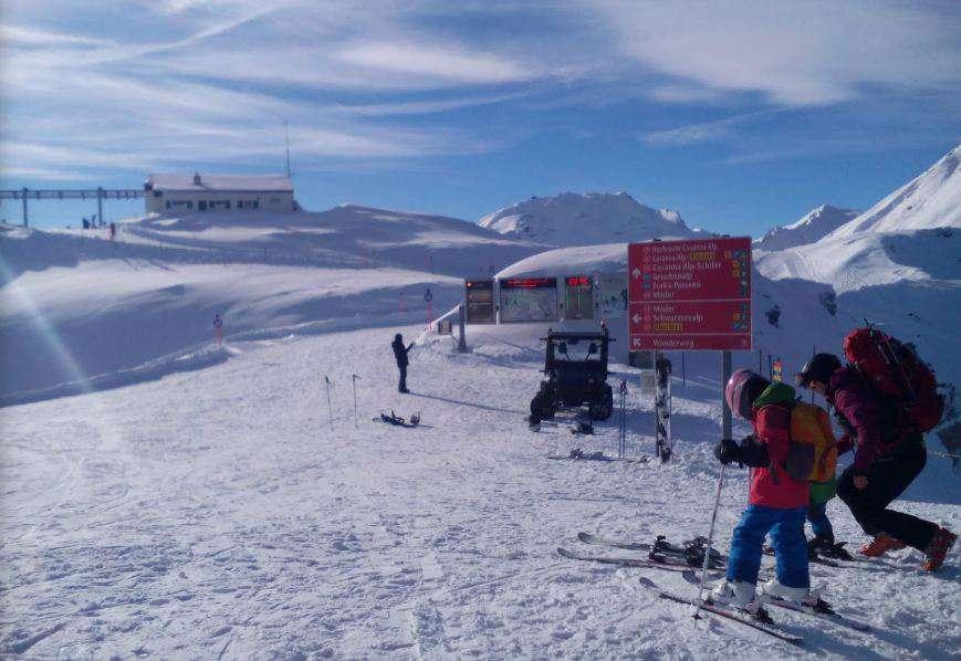 Горнолыжный курорт Parsenn (Davos Klosters) 6