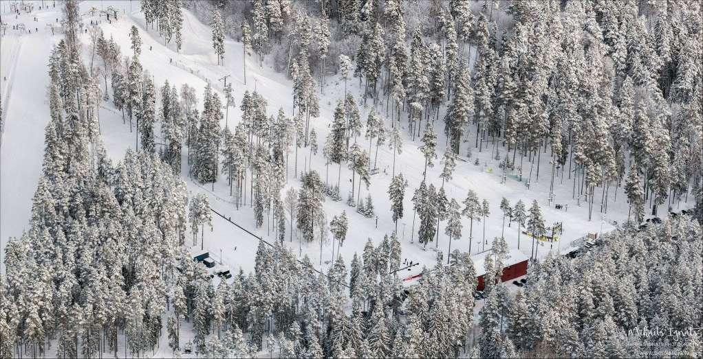 Горнолыжный курорт Riekstu Kalns 11