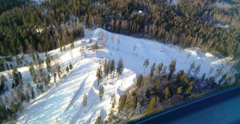 Горнолыжный курорт Riekstu Kalns 1