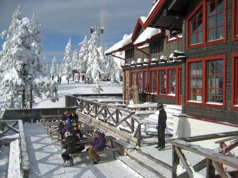 Горнолыжный курорт Romme Alpin 8