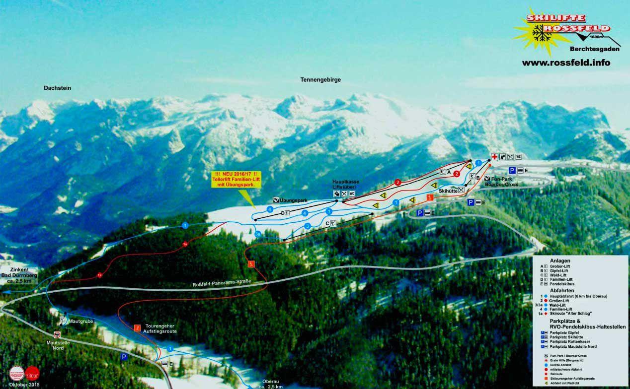 Горнолыжный курорт Rossfeld – Berchtesgaden — Oberau 2
