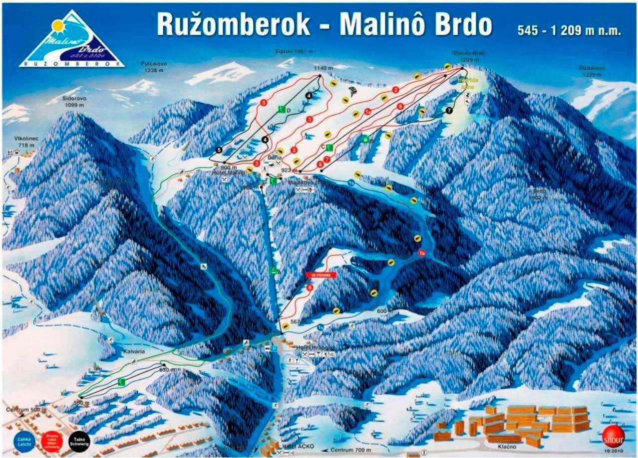 Горнолыжный курорт Ruzomberok Skipark 2