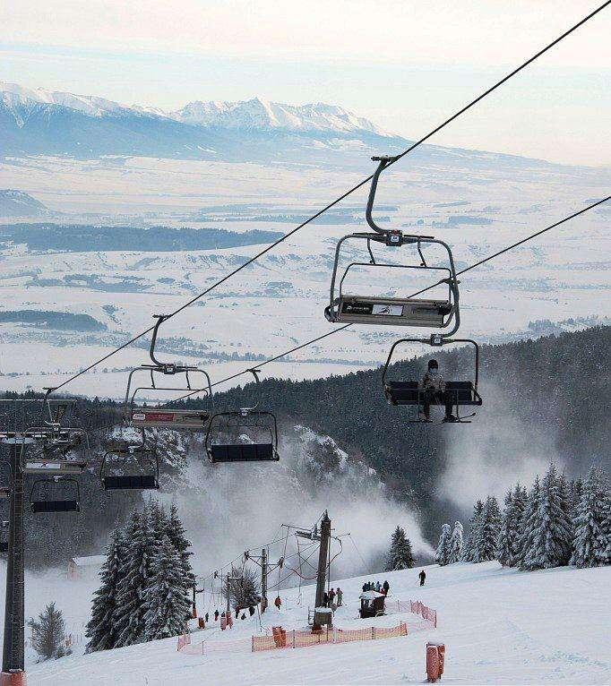 Горнолыжный курорт Ruzomberok Skipark 3