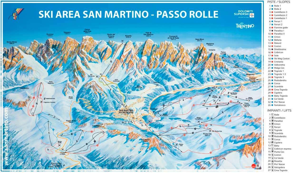 Горнолыжный курорт San Martino di Castrozza 2