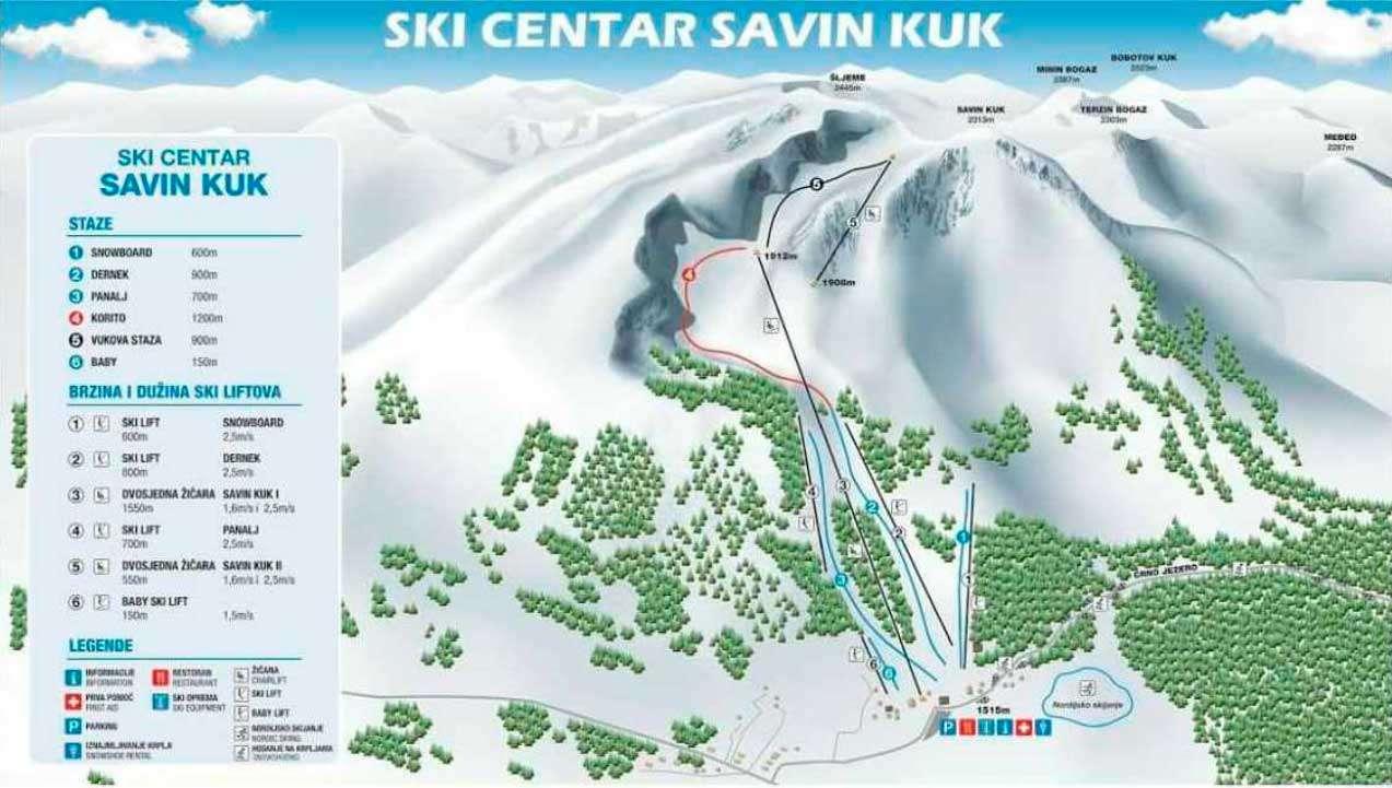 Горнолыжный курорт Savin Kuk – Žabljak 2
