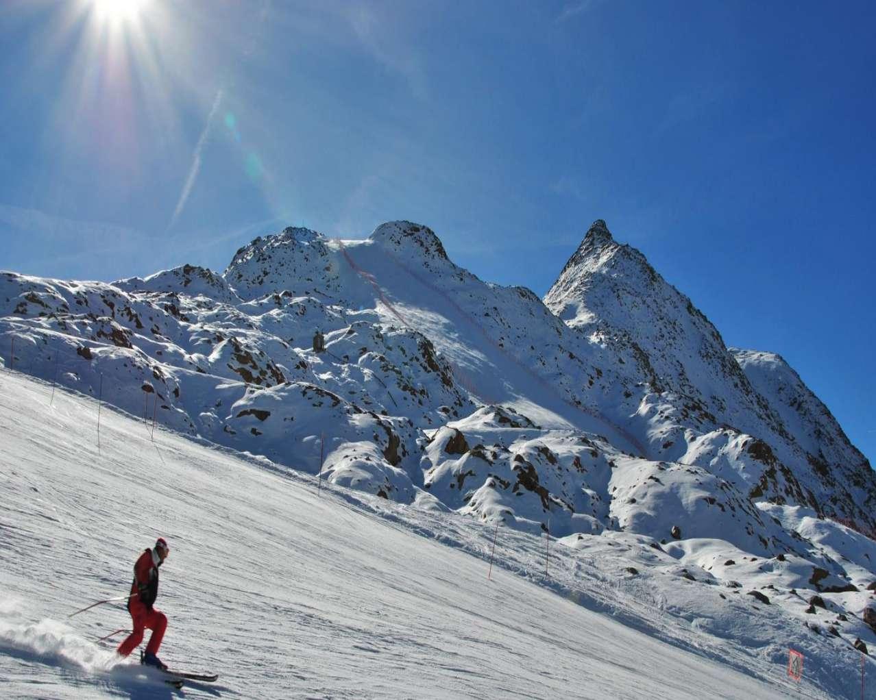 Горнолыжный курорт Val Senales Glacier 5