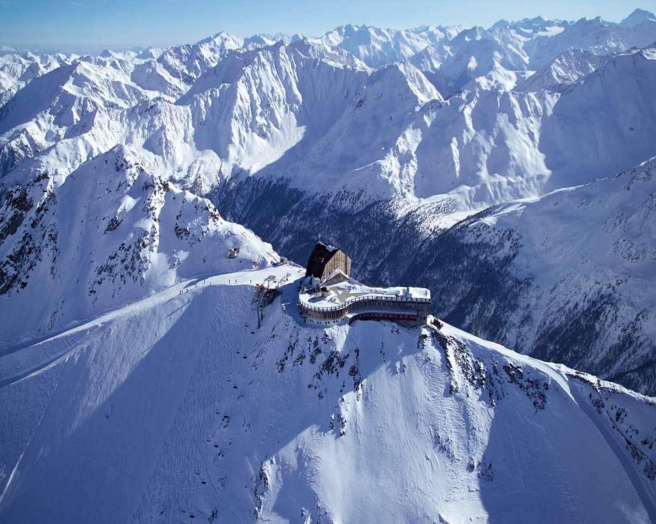 Горнолыжный курорт Val Senales Glacier 6